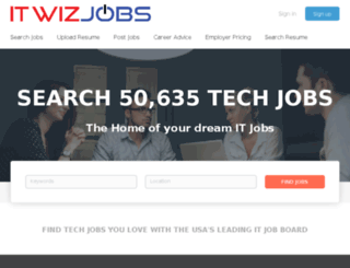 itwizjobs.com screenshot