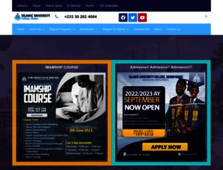 iug.edu.gh screenshot