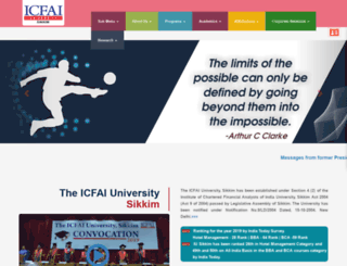 iusikkim.edu.in screenshot