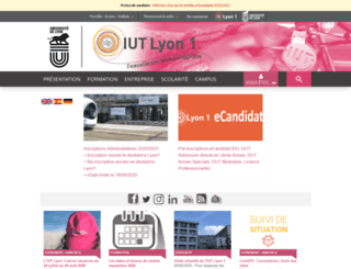 iut-a.univ-lyon1.fr screenshot