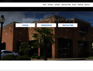 iveymotorcars.com screenshot