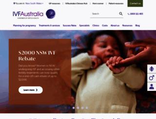 ivf.com.au screenshot