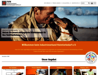 ivh-online.de screenshot