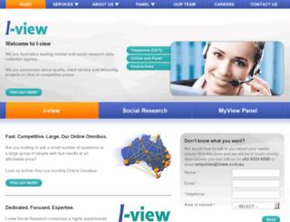 iviewsurveys.com.au screenshot