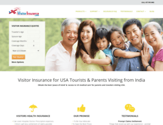 ivisitorinsurance.com screenshot