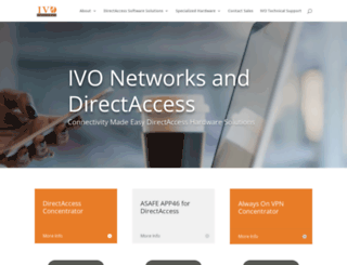 ivonetworks.com screenshot
