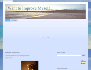 iwanttoimprovemyself.blogspot.co.uk screenshot