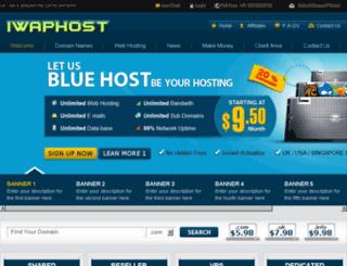 iwaphost.net screenshot