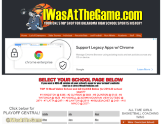 iwasatthegame.com screenshot