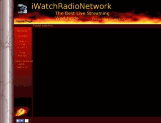 iwatchradionetwork.com screenshot