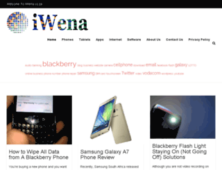 iwena.co.za screenshot