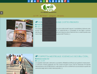 iwillbegreen.com screenshot