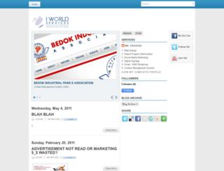 iworldsvcs.blogspot.com screenshot