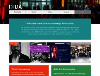 ixda.org screenshot