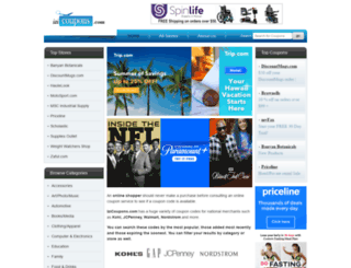 izicoupons.com screenshot
