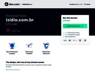 izidio.com.br screenshot