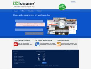 izisitemaker.com screenshot