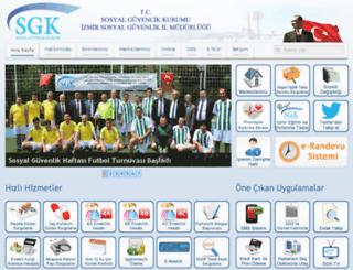 izmirsgk.gov.tr screenshot