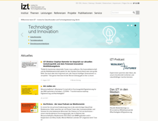 izt.de screenshot