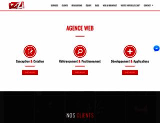 izziweb.fr screenshot