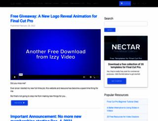 izzyvideo.com screenshot