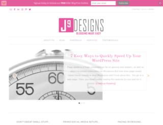 j9designs.net screenshot