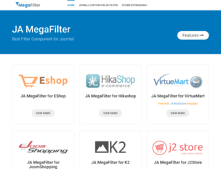 ja-megafilter.demo.joomlart.com screenshot