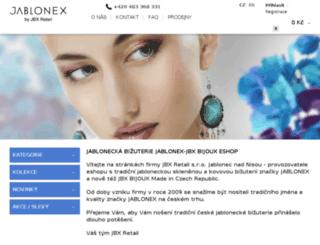 jablonex.inshop.cz screenshot