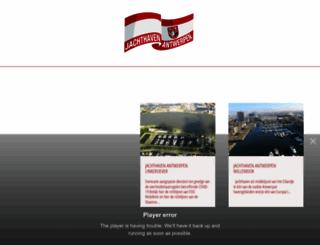 jachthaven-antwerpen.be screenshot