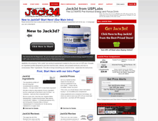 jack3d.org screenshot