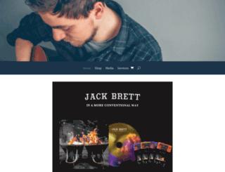 jackbrettmusic.com screenshot