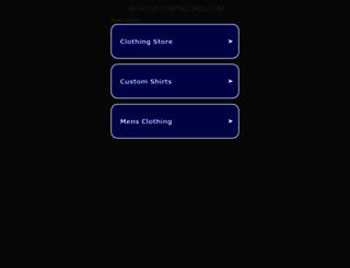 jackcustomtailors.com screenshot