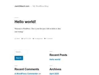 jackgmarch.com screenshot