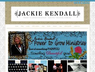 jackiekendall.com screenshot