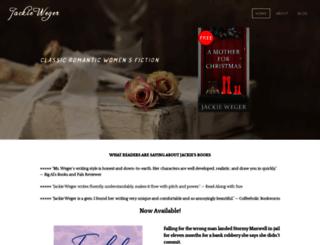 jackieweger.com screenshot