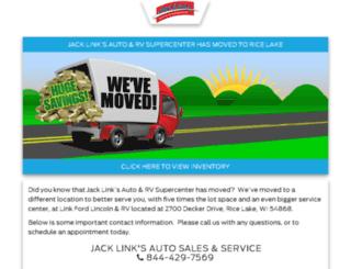jacklinksautoandrv.com screenshot