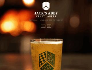 jacksabbybrewing.com screenshot