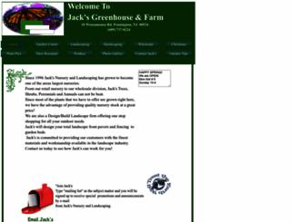 jacksnurseryandlandscaping.com screenshot