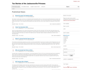 jacksonvilleprincessii.com screenshot