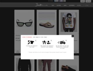 jackthreads.mimoona.com screenshot