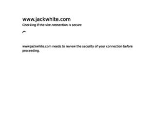 jackwhite.com screenshot