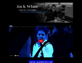 jackwhiteiii.com screenshot