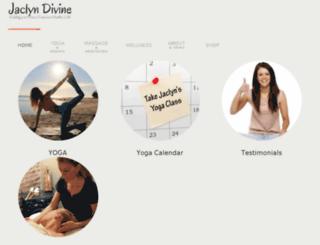 jaclyndivine.com screenshot