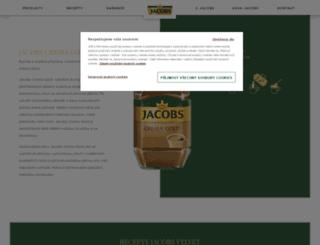 jacobscremagold.cz screenshot