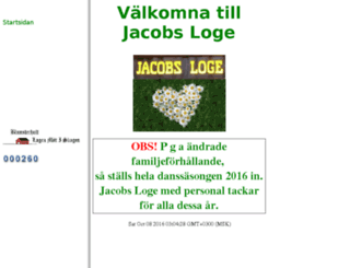 jacobsloge.com screenshot