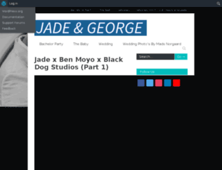 jadeandgeorge.com screenshot
