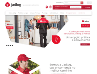 jadlog.com screenshot