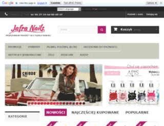 jafra-nails.eu screenshot