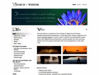 jagadguruchrisbutler.com screenshot