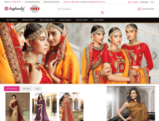 jagdambasarees.com screenshot